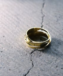 MAISON mou/【YArKA/ヤーカ】silver925 asymmetry wave ring[ueb] /アシンメトリーリング シルバー925 /503051810