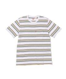 Levi's/SUNSET ポケットTシャツ WHITE BODY + GREY/503068701