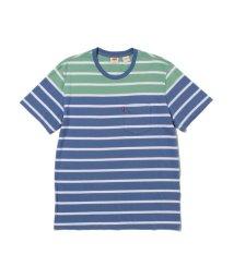 Levi's/SUNSET ポケットTシャツ FLYING HIGH STRIPE/503068703