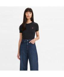 Levi's/SS RIB BABY Tシャツ MINERAL BLACK/503068708