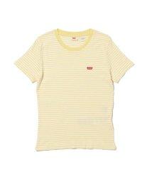 Levi's/EMMY Tシャツ AYA STRIPE PALE BANANA STRIPE/503068710