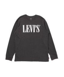 Levi's/ロングスリーブグラフィックTシャツ 90'S SERIF LOGO LS FORGED IRON/503068725