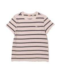 Levi's/HERITAGE Tシャツ ADA STRIPE PFD PEACH BLUSH/503068731
