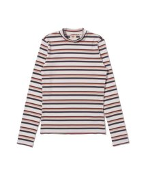 Levi's/PENNY MOCKNECK ANNABETH STRIPE CLOUD DANCER/503068734