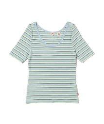 Levi's/VENICE Tシャツ ARIADNE STRIPE ANGEL FALLS/503068735