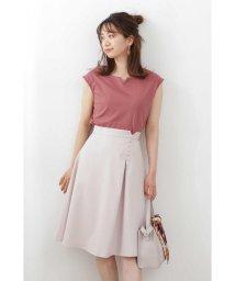 PROPORTION BODY DRESSING/◆サイド釦アシメタックフレアスカート/503068833