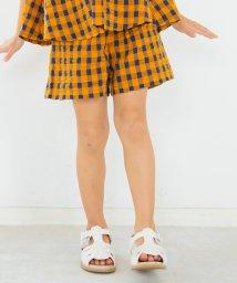 branshes/【セットアップ対応商品】ギンガムチェック柄ショートパンツ(80~150cm)/503071084