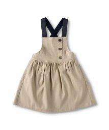 branshes/ショルダー配色ジャンパースカート(90~150cm)/503071086