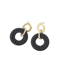 MIELIINVARIANT/Rattan Ring Pierce/503071718