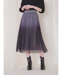 MIELIINVARIANT/Color Tiered Tulle Skirt/503071719