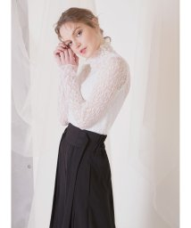 MIELIINVARIANT/Lacy Stretch Blouse/503071720