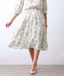 AMACA/FRORAL PRINTスカート/502941085