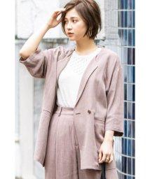 FREE'S MART/《Sシリーズ対応商品》麻レーヨンオーバーサイズジャケット/503011645