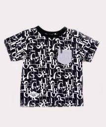 BeBe/スムースパズルプリントTシャツ/503049514