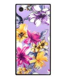 Mーfactory/iPhone8/7 ROYALPARTY 背面ガラスケース [アーバンフラワー/LAVENDER]/503067306