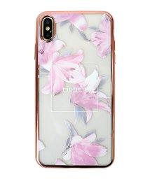 Mーfactory/iPhoneXSMax rienda [メッキクリアケース/エレガントフラワー]/503067381