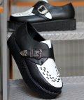 SFW/モンクストラップシューズ ラバーソール ベルト メンズ 靴 厚底/1710/503068309