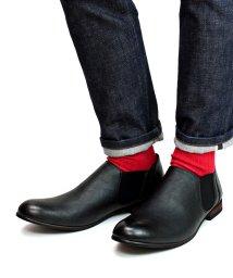 SFW/軽くて履きやすくて歩きやすい シンプルで合わせやすく履いた時のシルエットがきれいなサイドゴアブーツ/5234/503068331