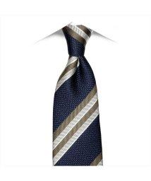BRICKHOUSE/ネクタイ 日本製 絹100% ネイビー系 ビジネス フォーマル/503074710