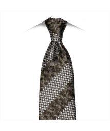 BRICKHOUSE/ネクタイ 日本製 絹100% ブラウン系 ビジネス フォーマル/503074713