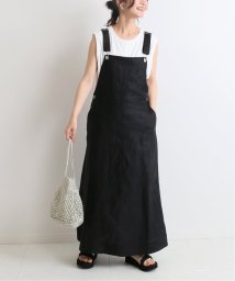 SLOBE IENA/リネンジャンパースカート◆/503075844