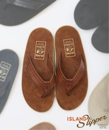 JOURNAL STANDARD/【ISLAND SLIPPER / アイランドスリッパ】別注 :  PT203 LEATHER×SUEDE/503076612