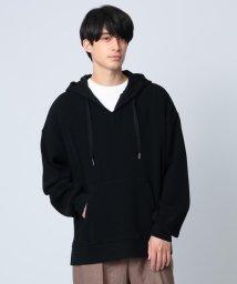 tk.TAKEO KIKUCHI/ワッフルスキッパーフーディ/503077188