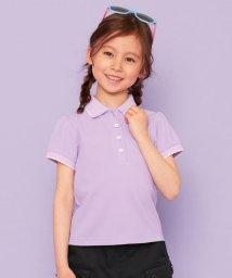 KUMIKYOKU KIDS/【110-140cm】スカラップカラー ポロシャツ/503077401