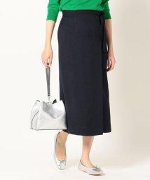 SHIPS any WOMENS/SHIPS any:ラップライクタイトスカート/503077552