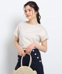 Dessin/【XS~Lサイズあり・洗える】シルケットスムースTシャツ/503077580