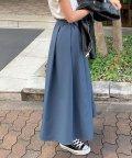 KOBE LETTUCE/デザインスカート【ベルト付き】 [M2828]/503077884