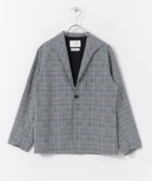 URBAN RESEARCH DOORS/UNIFY Panama Cloth Check Jacket/503078239