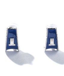 LANVIN en Bleu(JEWELRY)/セサンパ スタイリッシュロゴイヤリング/501562035