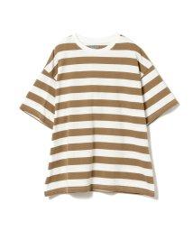 こどもビームス/GROOVY COLORS × こども ビームス / 別注 ボーダビッグ Tシャツ 20(150cm)/502886704