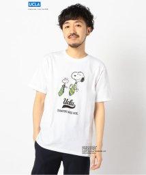 GLOSTER/UCLA × Snoopy Tシャツ 半袖 PEANUTS ピーナッツ/503063404