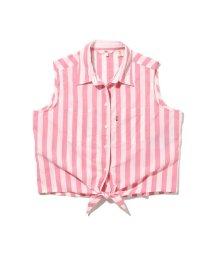 Levi's/DAVINA スリーブレスシャツ ANASTASIA STIPE CAMELLIA ROSE/503078683