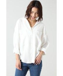 ROSE BUD/ダブルガーゼサマーシャツ/503078919