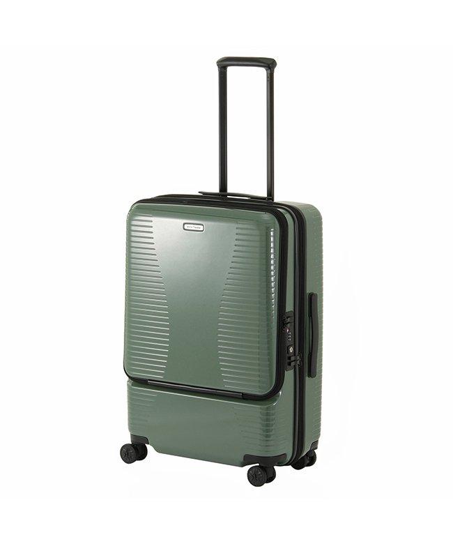 カバンのセレクション エース ワールドトラベラー スーツケース Mサイズ 64L/74L 拡張 軽量 ACE World Traveler 06702 ユニセックス グリーン フリー 【Bag & Luggage SELECTION】