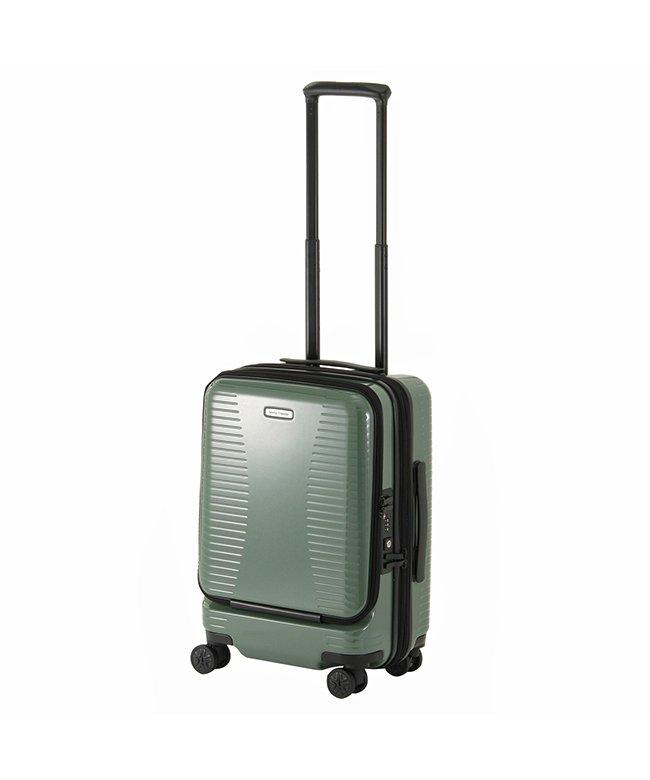 カバンのセレクション エース ワールドトラベラー スーツケース 機内持ち込み Sサイズ 27L/35L 拡張 軽量 ACE 06701 ユニセックス グリーン フリー 【Bag & Luggage SELECTION】