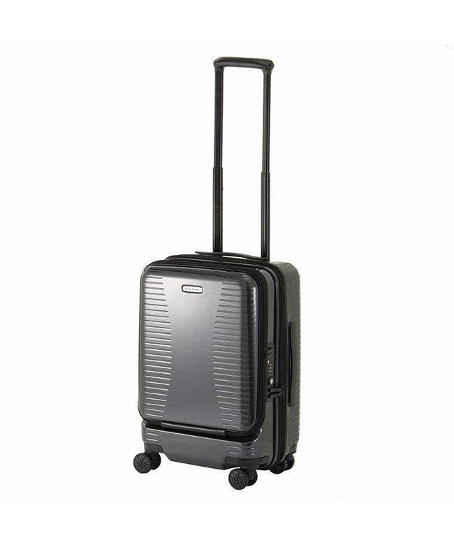 カバンのセレクション エース ワールドトラベラー スーツケース 機内持ち込み Sサイズ 27L/35L 拡張 軽量 ACE 06701 ユニセックス ガンメタリック フリー 【Bag & Luggage SELECTION】