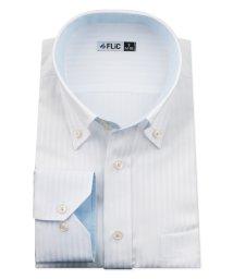 FLiC/ワイシャツ メンズ ドゥエボットーニ ボタンダウン 長袖 形態安定 シャツ ドレスシャツ ビジネス ノーマル スリム yシャツ カッターシャツ 定番 ドビー お/503079220