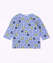 SLAP SLIP/アソートプリント7分袖Tシャツ/503058121