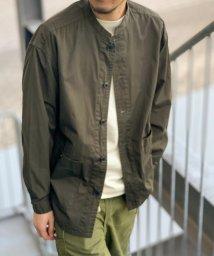 """FREDYMAC/【FREDYMAC """"SUNDAY TOOLS WEAR""""】バンドカラーシャツ/スタンドカラーカバーオール/503079509"""