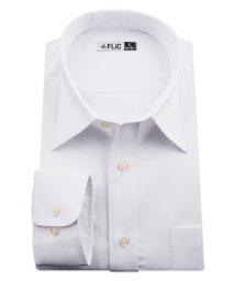 FLiC/ワイシャツ ノーアイロン ドライ ストレッチワイシャツ メンズ 長袖 形態安定 吸水速乾 織柄 レギュラー/503079707