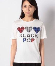 BENETTON (women)/BLACK POP ロゴ半袖Tシャツ/503067880