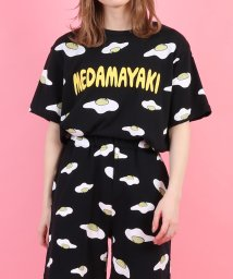 PUNYUS/目玉焼き総柄Tシャツ/502953181