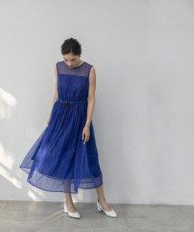 smeralda/ストライプレースドレス/503049998