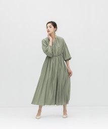 smeralda/ボリュームパススリーブドレス/503050001