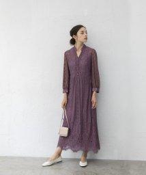 smeralda/スキッパーレースドレス/503050007