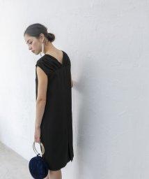 smeralda/Vネックコクーンドレス/503050012